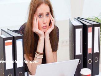 iş stresini azaltma, iş stresi ile başa çıkma, iş stresinden kurtulma