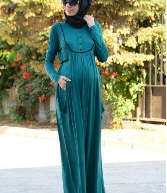 tesettür hamile kıyafeti, hamileler için tesettür kıyafet, tesettürlü hamile kadın kıyafeti