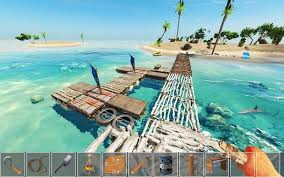 raft survival, raft survival oyunu, raft survival android oyunu